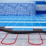 Теплый пол под плитку (электрический): как укладывать в ванной, виды устройств, монтаж установки, технология и схема укладки
