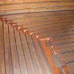 Теплый водяной пол на деревянном полу