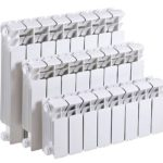 Размеры биметаллических радиаторов отопления: высота, глубина, межцентровое расстояние