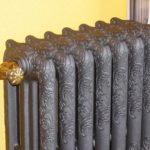Чугунные радиаторы ретро: особенности конструкции и дизайн, реставрация чугунных батарей