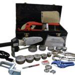 Инструмент для полипропиленовых труб: труборезы, торцеватели, сварочный аппарат и фиксаторы для труб
