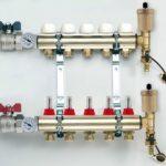Коллектор для теплого водяного пола: схема сборки, настройка, принцип работы