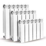 Теплоотдача биметаллических радиаторов отопления: таблица мощности и определение количества секций на 1 м2