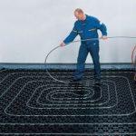 Как правильно укладывать теплый водяной пол