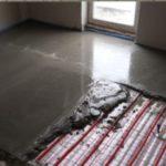 Устройство теплых водяных полов на бетонной стяжке