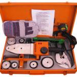Сварочный аппарат для полипропиленовых труб: способы соединения при помощи сварочного аппарата, виды инструментов для сварки и насадки к ним