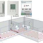 Терморегулятор для электрического теплого пола